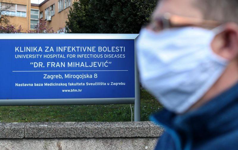 14.03..2020., Zagreb - Klinika za infektivne bolesti Dr. Fran Mihaljevic. Photo: Igor Kralj/PIXSELL
