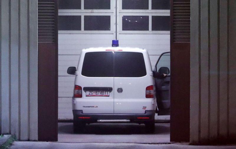 08.11.2018., Zagreb - Nakon odluke o produljenju istraznog pritvora, policija dovodi Ivicu Todorica u zatvor u Remetincu. Photo: Robert Anic/PIXSELL
