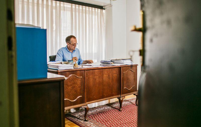 Telegramov Borko Vukosav fotkao je Prgometa u gradskom HDZ-u