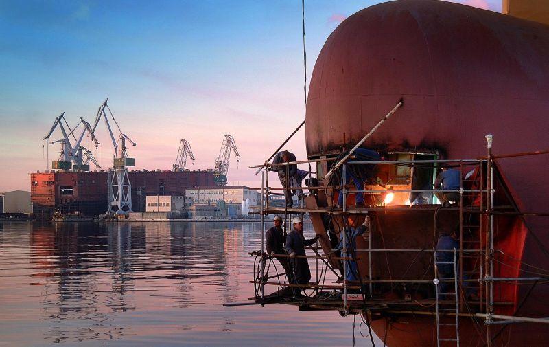 25.07.2009., Pula - Pulsko brodogradiliste Uljanik jedino je  profitabilno brodogradiliste u Hrvatskoj. Photo: Dusko Marusic/PIXSELL