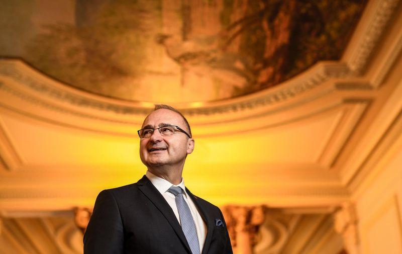 07.02.2020., Zagreb - Ministar vanjskih i europskih poslova Gordan Grlic Radman.   Photo: Josip Regovic/PIXSELL