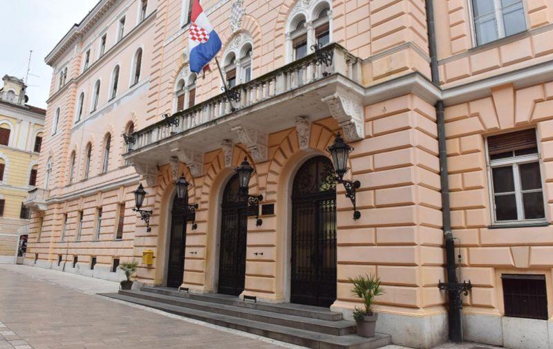 Ulaz u zgradu suda u Zadru 10.02.2019., Zadar - Ulaz u zgradu suda u Zadru. Photo: Hrvoje Jelavic/PIXSELL