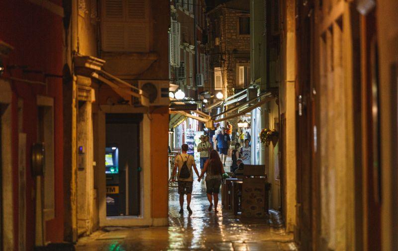 08.09.2020., Zadar - Osjetno manje turista na ulicama Zadra. Photo: Marko Dimic/PIXSELL