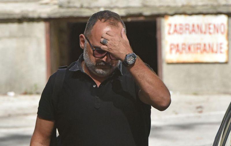 10.09.2019., Pazin - Na danasnjem citanju presude na Opcinskom sudu u Pazinu pjevac Tony Cetinski oslobodjen je optuzbi za smrt pjesaka u Rovinju.  Photo: Dusko Marusic/PIXSELL