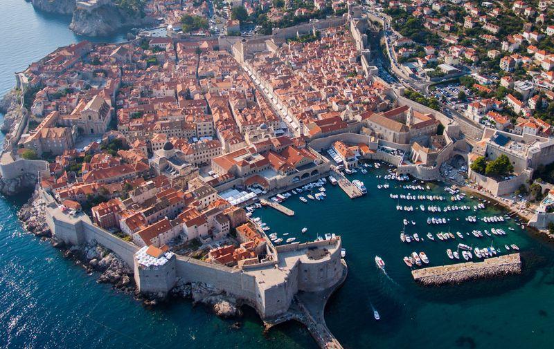 22.08.2012., Dubrovnik - Panoramske slike iz zraka. Photo: Grgo Jelavic/PIXSELL