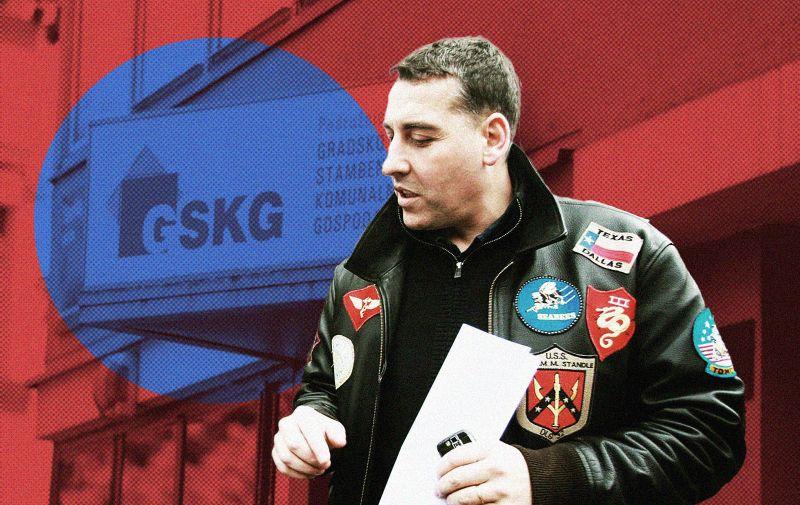 17.06.2021. Zagreb - Policija i Uskok upali u GSKG: Uhicene cetiri osobe, medju njima i voditelj  Photo: Patrik Macek/PIXSELL