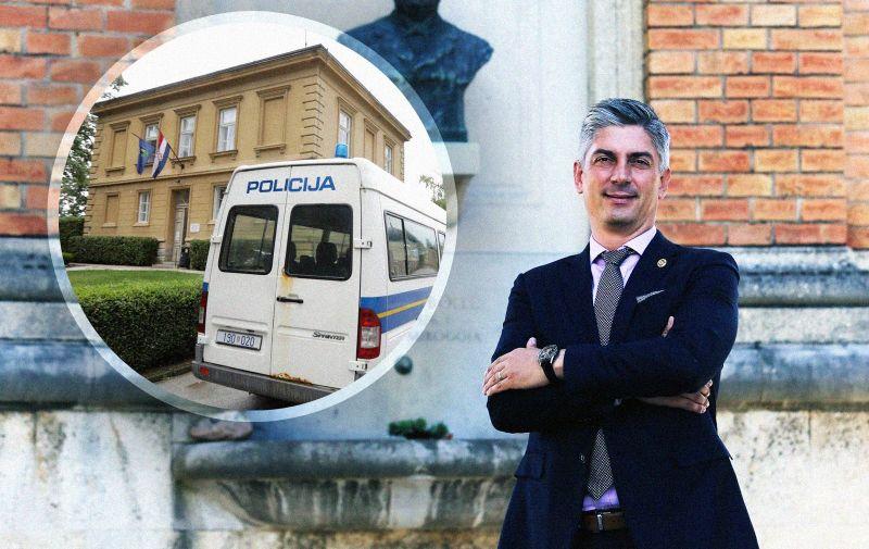 13.09.2019., Zagreb - Patrik Segota, direktor Gradskih groblja.  Photo: Dalibor Urukalovic/PIXSELL