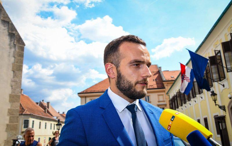 22.07.2019. Zagreb - Dolazak ministara u Vladu Republike Hrvatske. Ministar Josip Aladrovic   Photo: Josip Regovic/PIXSELL