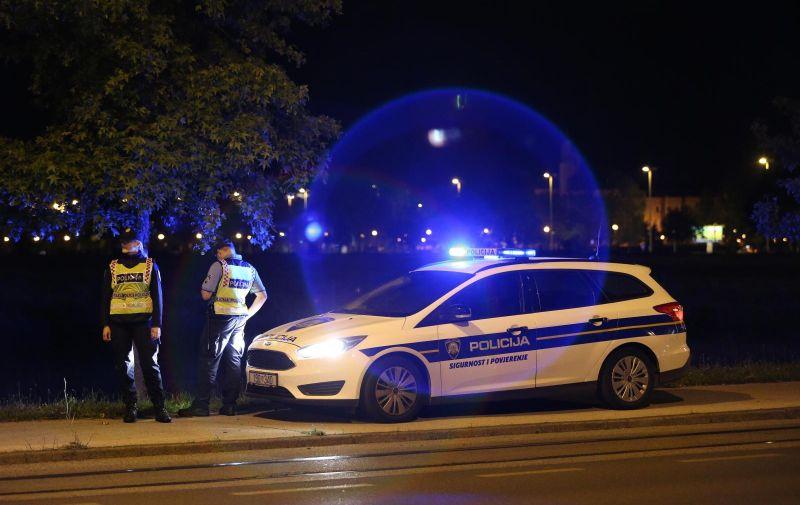 02.06.2019., Zagreb - Prometna nesreca u Maksimirskoj ulici u kojoj su sudjelovala dva automobila. Policijski ocevid je u tijeku.  Photo: Luka Stanzl/PIXSELL