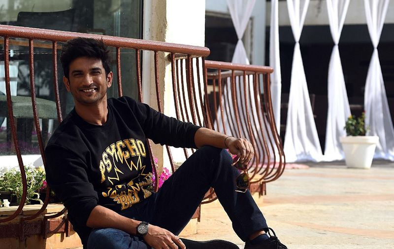 """Indian Bollywood actor Sushant Singh Rajput poses for a picture during the promotion of the upcoming Hindi film """"Sonchiraiya"""", in Mumbai on January 7, 2019. (Photo by Sujit Jaiswal / AFP)"""