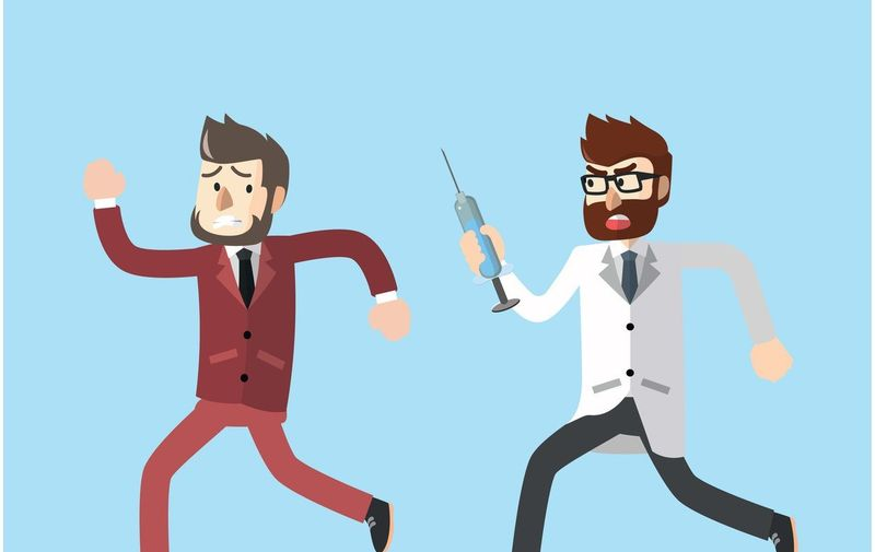 Business man vaccinated, Image: 278544931, License: Royalty-free, Restrictions: , Model Release: no, Credit line: Profimedia, Stock Budget