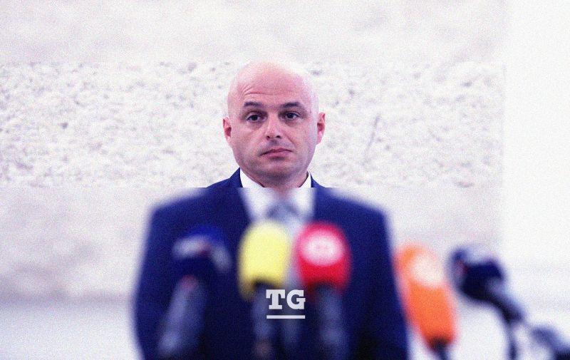 18.09.2020., Zagreb - Zastupnik Darko Puljasic komentirao je skidanje imuniteta. Photo: Patrik Macek/PIXSELL