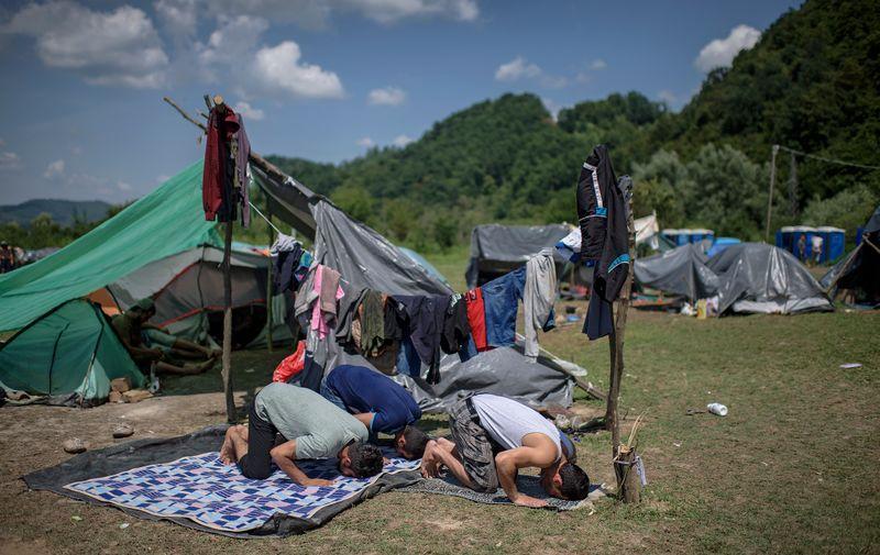 Kamp za migrante u Velikoj Kladuši