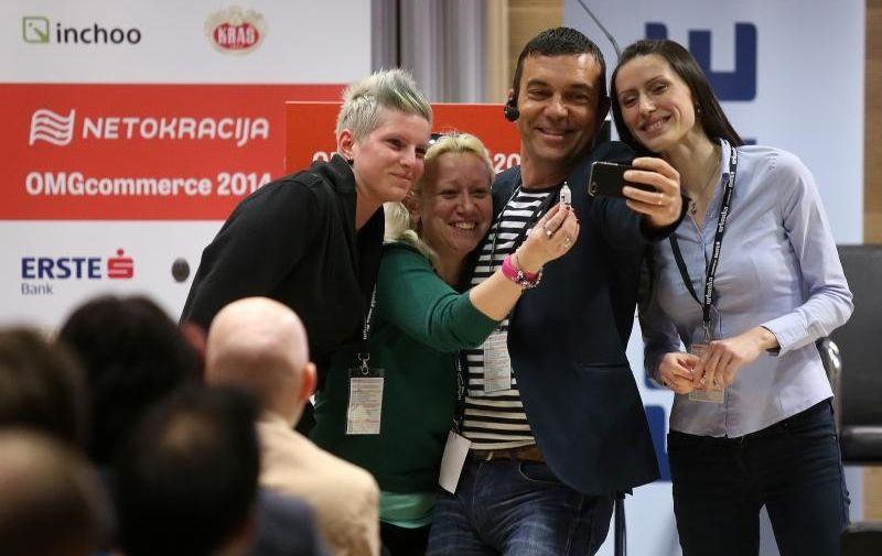 25.04.2014., Zagreb, Kras auditorium - Na 2. OMGcommerce konferenciji sudjeluju najveci strucnjaci za internetsku trgovinu. Igor Strejcek - Erste banka. Photo: Igor Kralj/PIXSELL