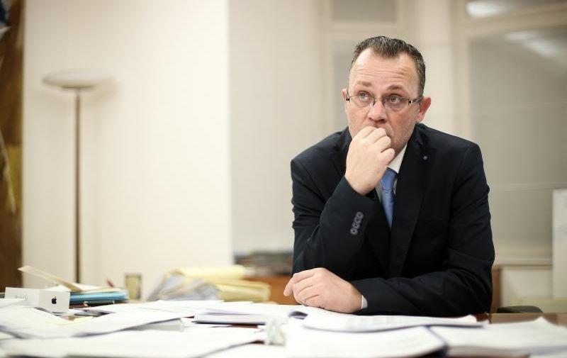 SPECIJAL OBZOR 27.01.2016., Zagreb -  Ministar kulture Zlatko Hasanbegovic.  Photo: Petar Glebov/PIXSELL