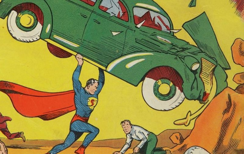 """This treasure trove of rare comic books is set to go under the hammer.  The """"holy grail"""" private collection of every single comic book published by DC from 1934 to 2014. The more than 40,000 comics in the collection include complete runs of Superman, Batman, Action Comics, and Detective Comics. The job lot is tipped to sell for millions of pounds.  They also feature superhero icons Wonder Woman, The Flash, Green Lantern and Aquaman, as well as the Justice League series. They were amassed by British DJ Ian Levine - known for his influence on the northern soul music scene.  He first discovered DC comics when he began reading The Justice League of America as an eight-year-old in 1960.  And when he found he could buy out of print issues at London comic shops, it sparked a  half-century of comic book collecting. He tracked down thousands of old issues, but in a pre-internet age he struggled to find key titles and in 1987 he sold most of his comic books to focus on his incomparable collection rare Northern Soul records, according to the auction house.  Richard Austin, Head of Sothebys Books & Manuscripts Department in New York, said: The Ian Levine Collection is the holy grail for comics collectors. Amassed over decades of hunting, Levines collection embodies the passion and fandom that has defined comics culture for generations, which today is best encapsulated not through printed issues but popular superhero films that regularly break box office records. Featuring some of the most valuable individual books as well as extremely rare promotional issues, the Levine Collection includes all the DC heroes that are among the most recognizable and versatile pop culture touchstones in the world. DC Complete: The Ian Levine Collection is being sold by Sotheby's in New York. The sale marks the 81st anniversary of the release of Detective Comics #27 on March 30, 1939, which featured the debut of The Batman.  The earliest comic book in the collection is New Fun: The Big Comic Magazi"""