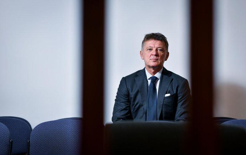 13.03.2019., Zagreb - Predsjednik Zupanijskog suda u Zagrebu Ivan Turudic.  Photo: Sandra Simunovic/PIXSELL