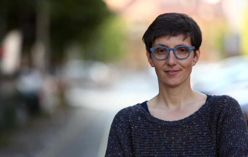 07.05.2018., Zagreb - Novinarka Maja Sever dobitnica je HND-ove nagrade na novinarku godine u 2017. godini. Photo: Matija Habljak/PIXSELL