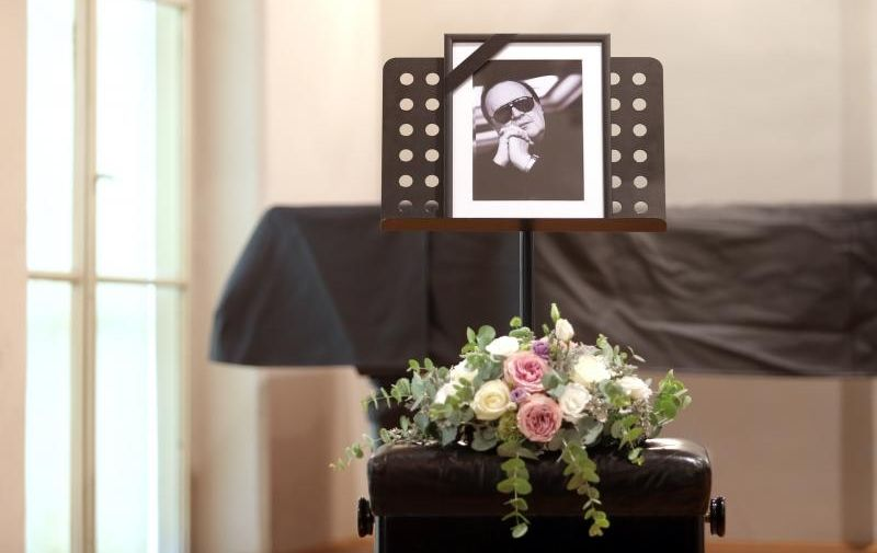 24.08.2015., Zagreb - U Hrvatskom glazbenom zavodu u Gundulicevoj ulici odrzana je komemoracija za Arsena Dedica. Poto: Davor Puklavec/PIXSELL