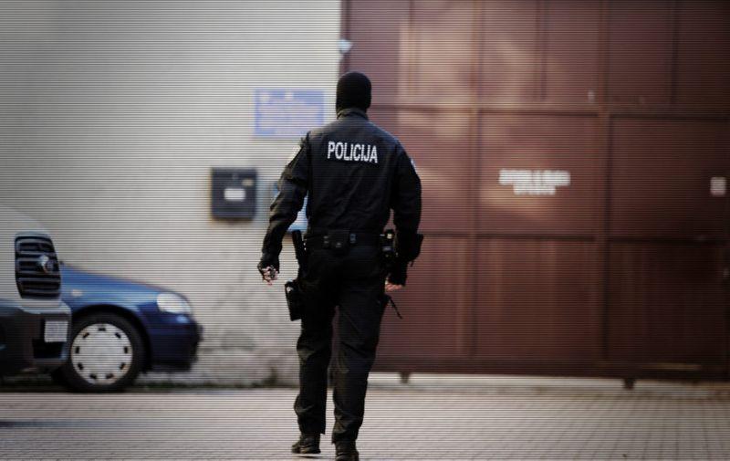 08.03.2018.,  Rijeka - Privodjenje  osumnjicenih za krijumcarenje kokaina  na Zupanijski sud.  Photo: Goran Kovacic/PIXSELL