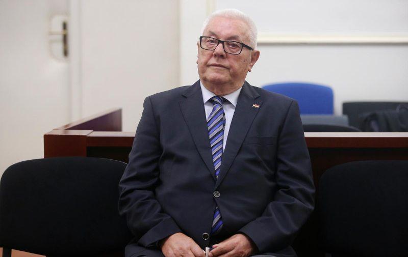 21.10.2019., Zagreb  - Sudjenje Ivi Sanaderu na Zupanijskom sudu na kojem svjedoci Luka Bebic.  Photo: Dalibor Urukalovic/PIXSELL
