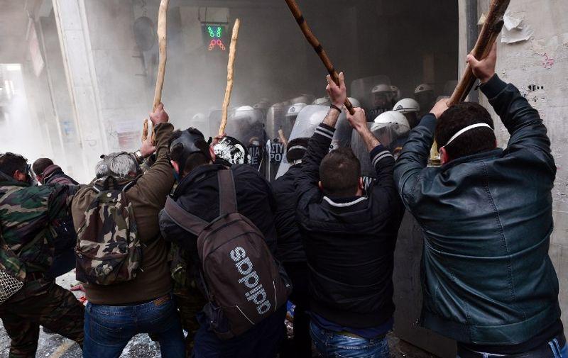 Prosvjedi protiv mjera štednje i reforme mirovinskog sustava