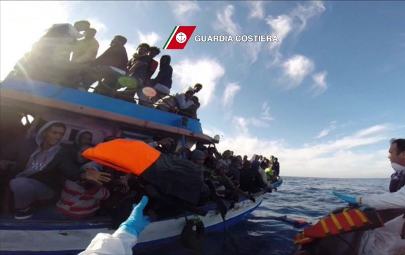 In this video grab released by the Italian Coast Guards (Guardia Costiera) on April 13, 2015 a boat of the Italian Guardia Costiera takes part in a rescue operation of migrants off the coast of Sicily on April 12, 2015. The Italian coastguard said Monday it recovered nine bodies after a boat carrying more than […]