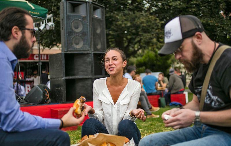 Telegramovi novinari na Zagreb Burger Festivalu