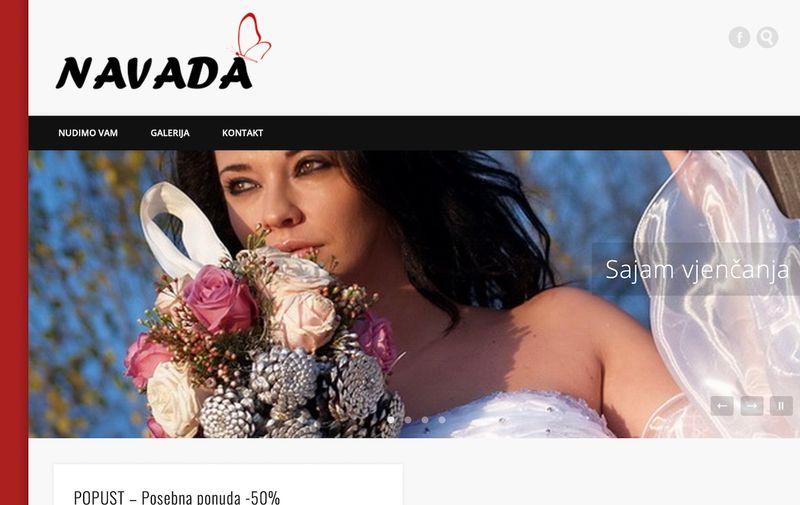 Ovako izgleda web stranica firme kojoj je Ministarstvo zdravstva dalo važan IT posao od 1,6 miljuna kuna