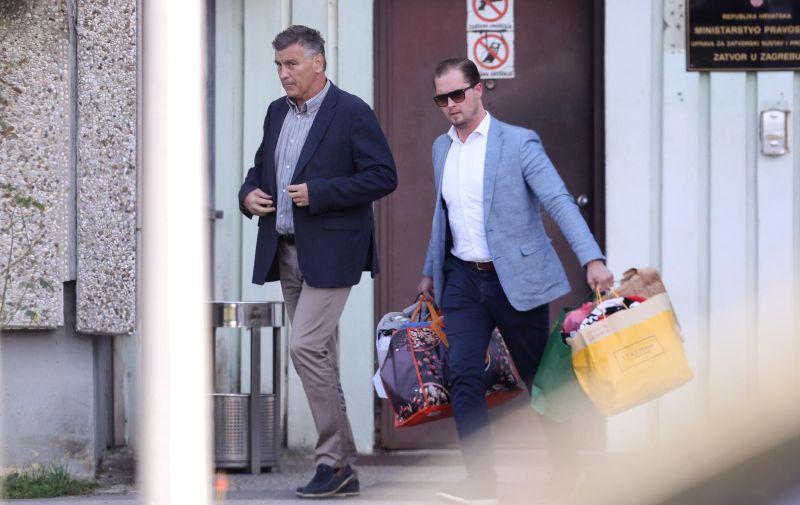 24.10.2019., Zagreb -Damir Skaro nakon mjesec dana izasao iz zatvora u Remetincu.  Photo: Luka Stanzl/PIXSELL