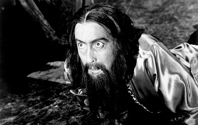 Christopher Lee u filmu 'Rasputin, ludi monah' Dona Sharda, 1966.