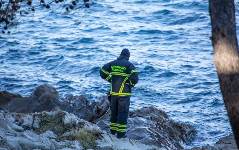 11.01.2019., Plat - Potraga za nestalom osobom  se nastavlja. Ocevid u HE Plat je u tijeku. Photo: Grgo Jelavic/PIXSELL