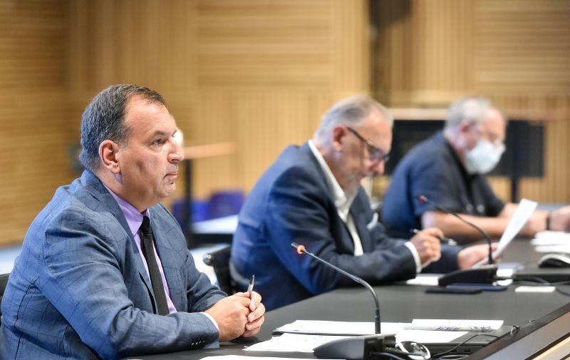 30.07.2021.,Zagreb - Konferencija za medije Nacionalnog stozera civilne zastite u NSK. Photo: Davorin Visnjic/PIXSELL