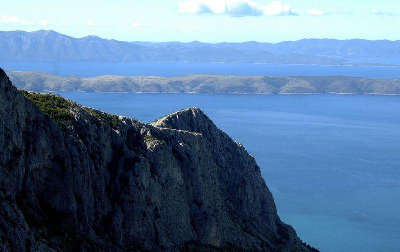 03.11.2008., Biokovo - Park prirode Biokovo. Juzna padina Biokova pruza pogled na srednjedalmatinske otoke. Photo: Tino Juric/Vecernji list