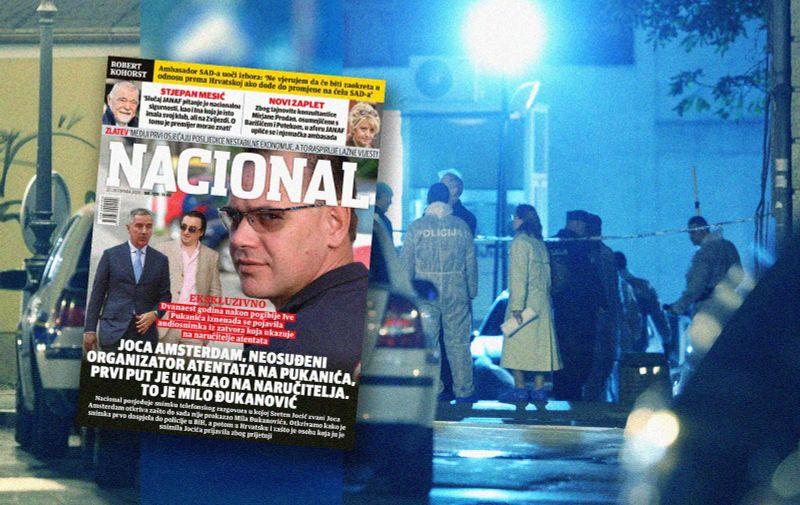 23. 10. 2008., Zagreb - Ivo Pukanic i sef marketinga NCL grupe Niko Franjic ubijeni su u eksploziji auto-bombe na parkiralistu ispred redakcije Nacionala.  Photo: Petar Glebov/24sata