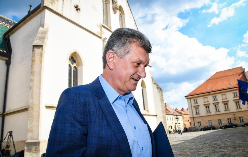22.07.2019. Zagreb - Dolazak ministara u Vladu Republike Hrvatske. Ministar Milan Kujundzic   Photo: Josip Regovic/PIXSELL