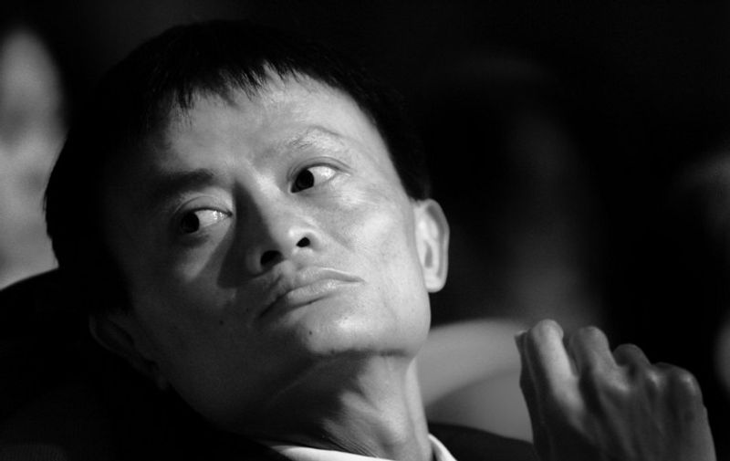 Alibaba CEO Jack Ma attends an award ceremony in Hangzhou, east of China's Zhejiang province, on January 15, 2006.
