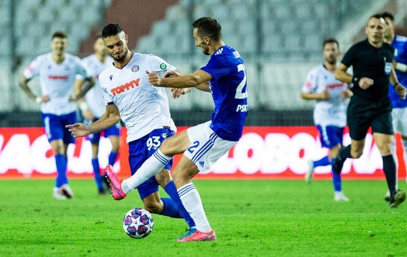 12.09.2020., Split, Poljud - Hrvatski Telekom Prva liga, 4. kolo, HNK Hajduk - GNK Dinamo. Photo: Milan Sabic/PIXSELL