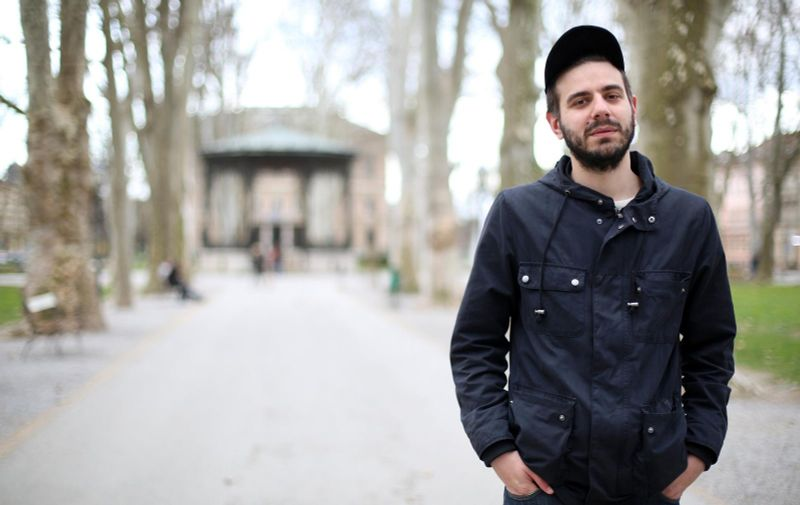 28.03.2016., Zagreb - Dino Pesut, dramaturg. Photo: Borna Filic/PIXSELL