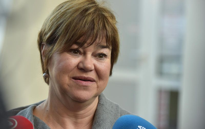 28.02.2019., Zadar -   Vesna Burcul, ravnateljica Centra za socijalnu skrb Zadar.  Photo: Dino Stanin/PIXSELL