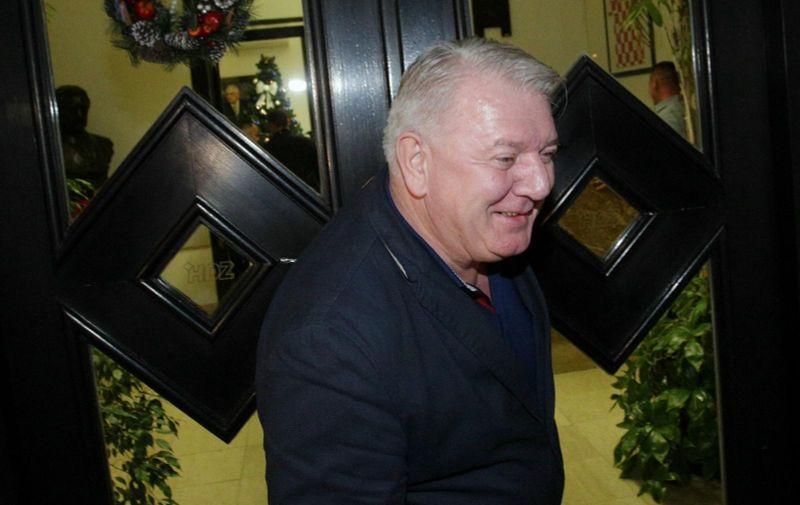 05.01.2018., Zagreb - U sredisnjici HDZ-a odrzana izvanredna sjednica Predsjednistva i Nacionalnog vijeca HDZ-a. Josip Djakic.  Photo: Zarko Basic/PIXSELL