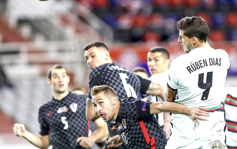 17.11.2020., stadion Poljud, Split - Utakmica Lige nacija, skupina A3, Hrvatska - Portugal. Photo: Milan Sabic/PIXSELL