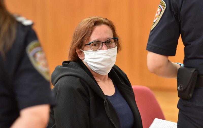 14.05.2020., Varazdin - Nastavak sudjenja Smiljani Srnec optuzenoj za ubojstvo sestre Jasmine Dominic. Photo: Vjeran Zganec Rogulja/PIXSELL
