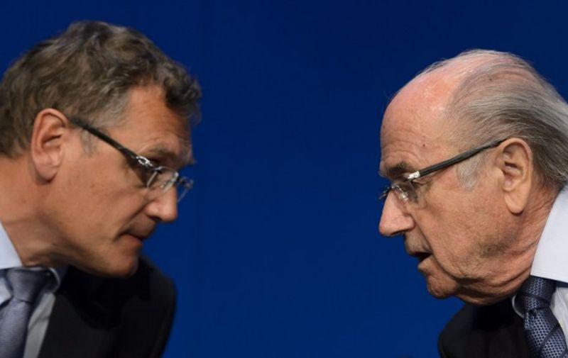 Jerome Valcke i Sepp Blatter