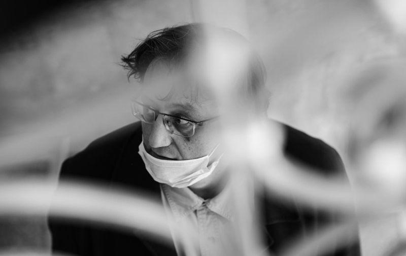 31.03.2020., Zagreb- Psihijatar Robert Torre. Photo: Sandra Simunovic/PIXSELL