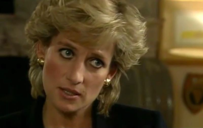 November 1995. Diana, Princess of Wales, interviewed by Martin Bashir for the BBC Panorama programme.(©BBC). Captioned 7 August 2017.,Image: 344381832, License: Rights-managed, Restrictions: RESTRICTED RIGHTS Supplied by LMK Media. Editorial Only. LMK Media is not the copyright owner of these Film or TV stills but provides a service only for recognised media outlets ., Model Release: no, Credit line: Profimedia