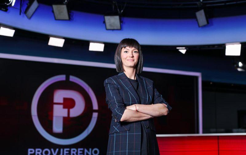 12.05.2020., Zagreb - Ivana Paradzikovic, novinarka i voditeljica emisije Provjereno na Nova TV. Photo: Luka Stanzl/PIXSELL