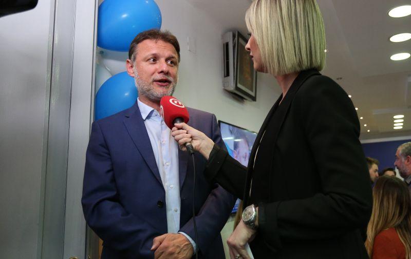 26.05.2019. , Zagreb -  Docek izbornih rezultata u sredisnjici HDZ-a na Trgu zrtava fasizma.Gordan Jandrokovic. Photo: Marko Prpic/PIXSELL