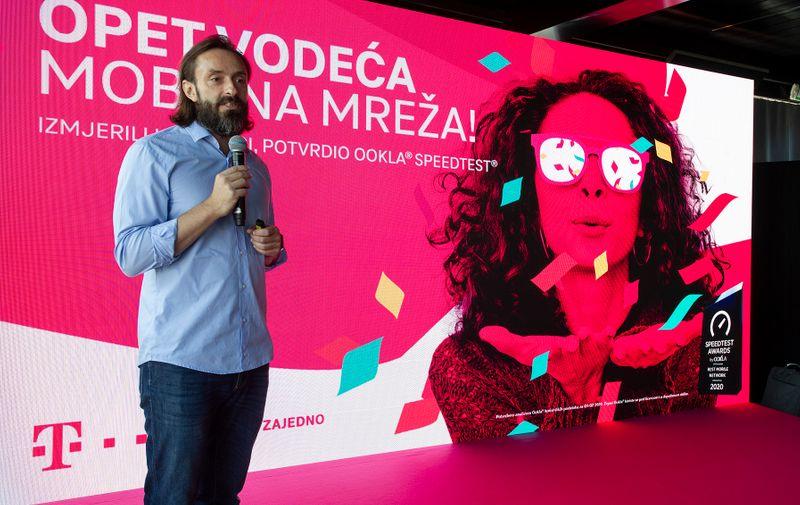 Boris Drilo, član Uprave i glavni direktor za tehniku i informacijske tehnologije (CTIO) Hrvatskog Telekoma