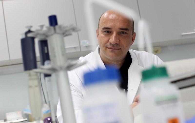 02.07.2014., Zagreb - Reportaza iz DNA labaratorija Genos.  Prof Gordan Lauc.  Photo: Boris Scitar/Vecernji list/PIXSELL